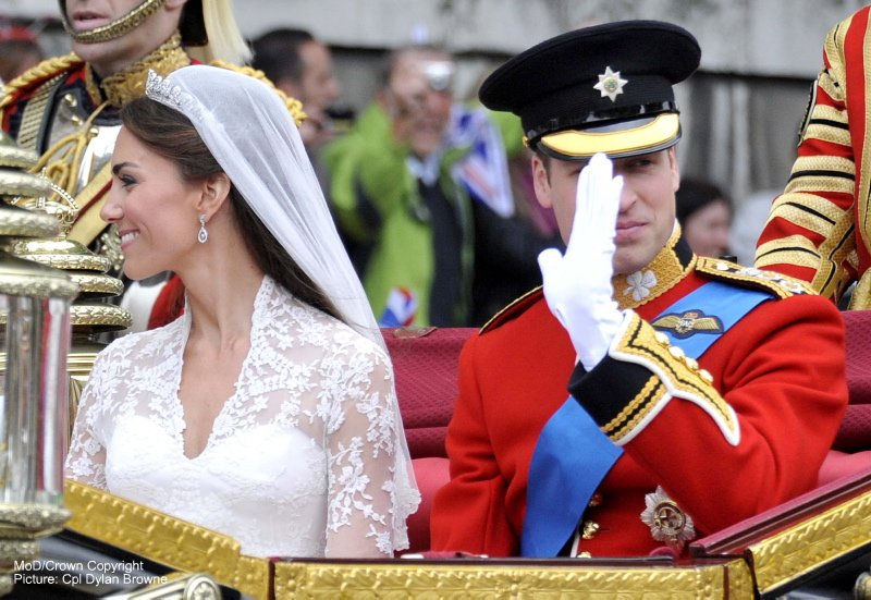 The Duke and Duchess of Cambridge Wedding