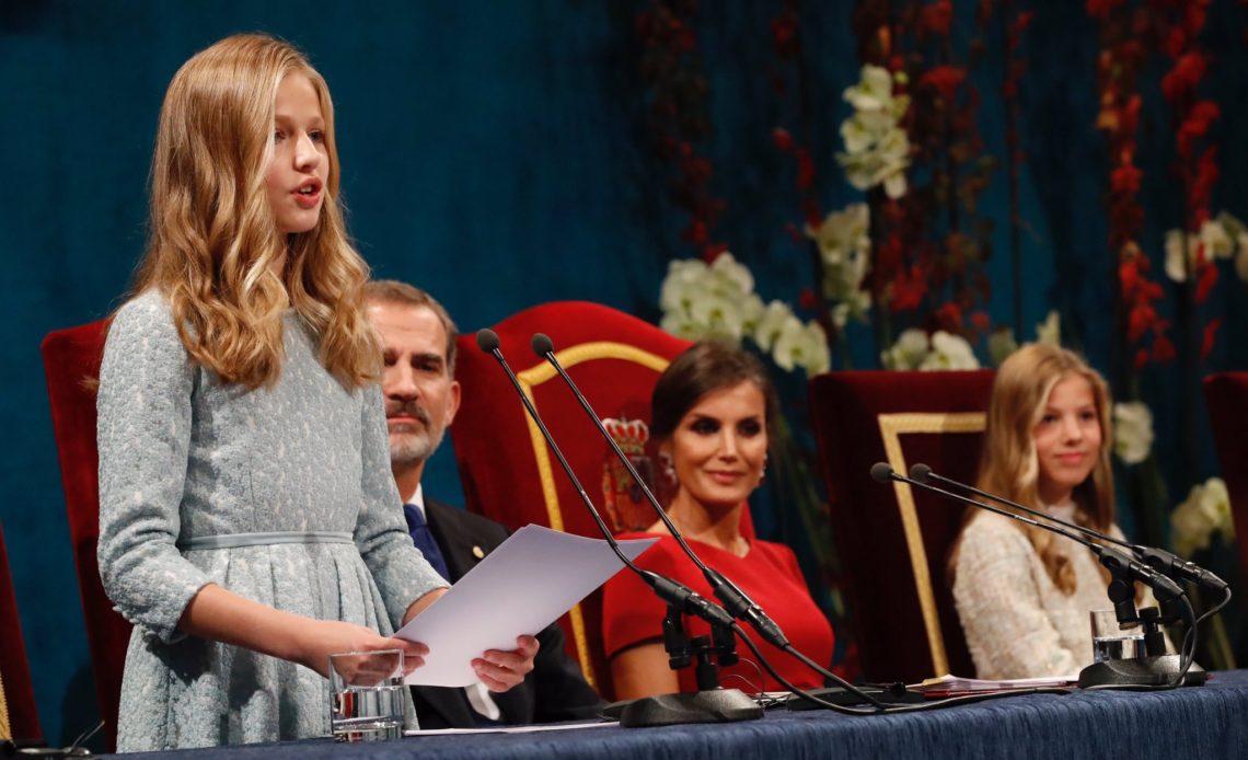 Leonor Felipe Letizia Sofia