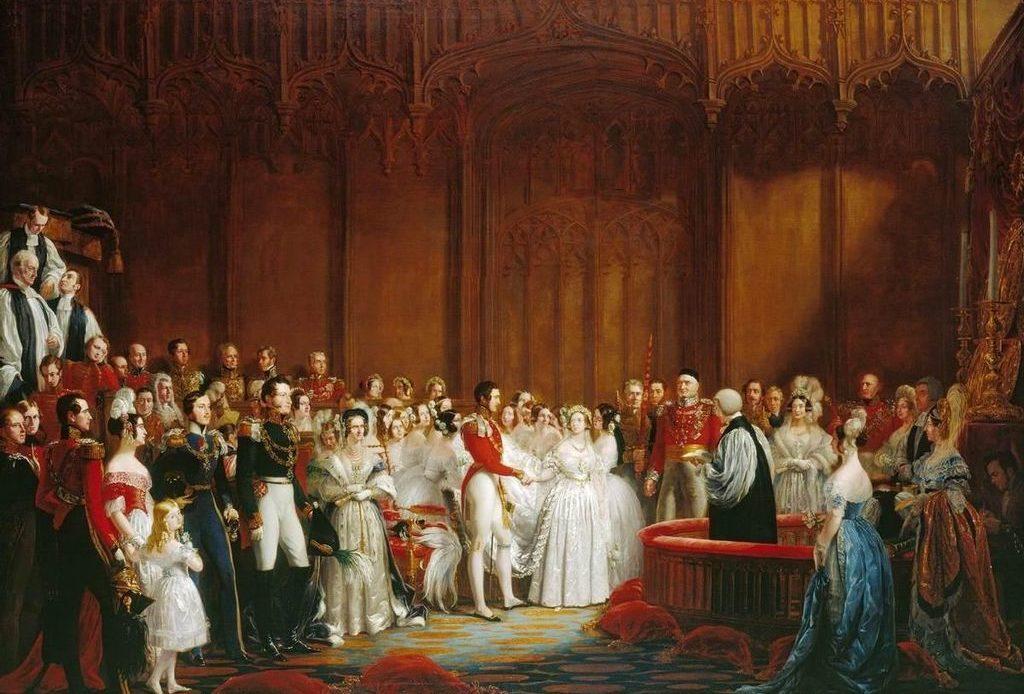 Queen Victoria, Prince Albert, Wedding