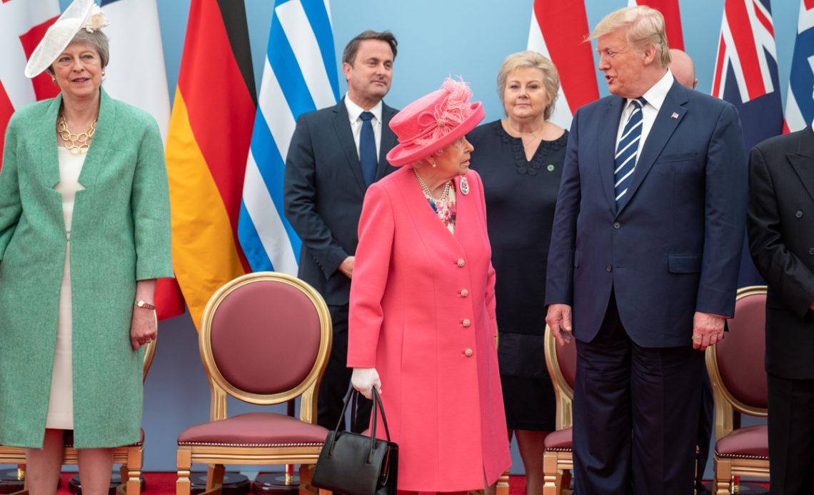 The Queen, Donald Trump