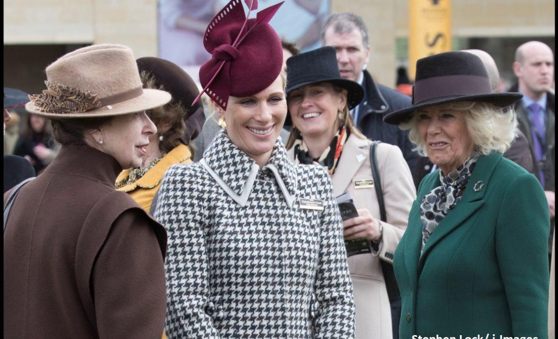 Anne, Princess Royal; Camilla, Duchess of Cornwall; Zara Tindall
