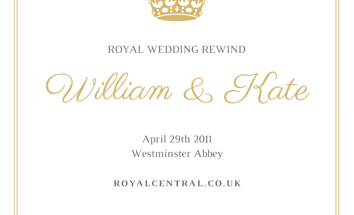 Royal Wedding Banner, William and Kate