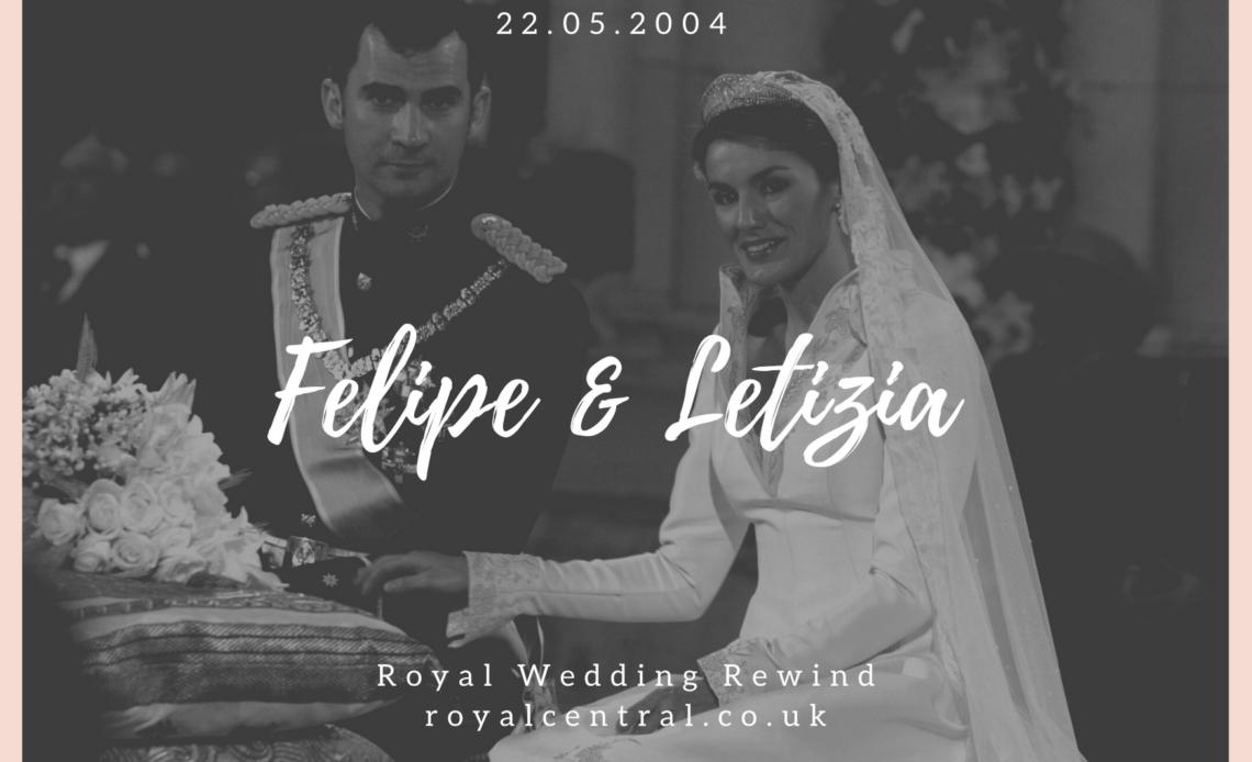King Felipe and Queen Letizia of Spain Wedding