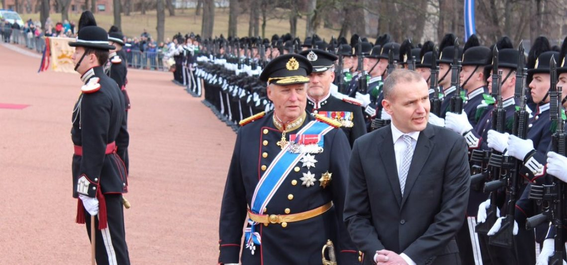 King Harald with the Royal Guard
