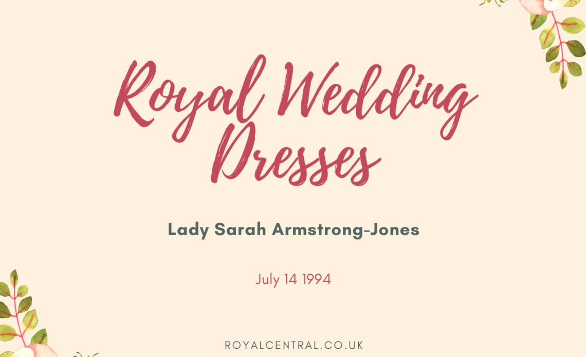 Lady Sarah Armstrong-Jones