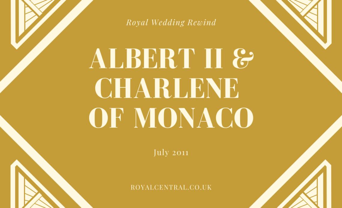 Royal Wedding Rewind Albert and Charlene