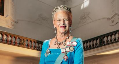 Queen Margrethe II Portrait
