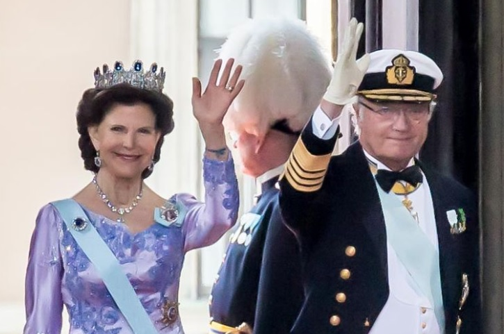 Queen Silvia and King Carl XVI Gustaf
