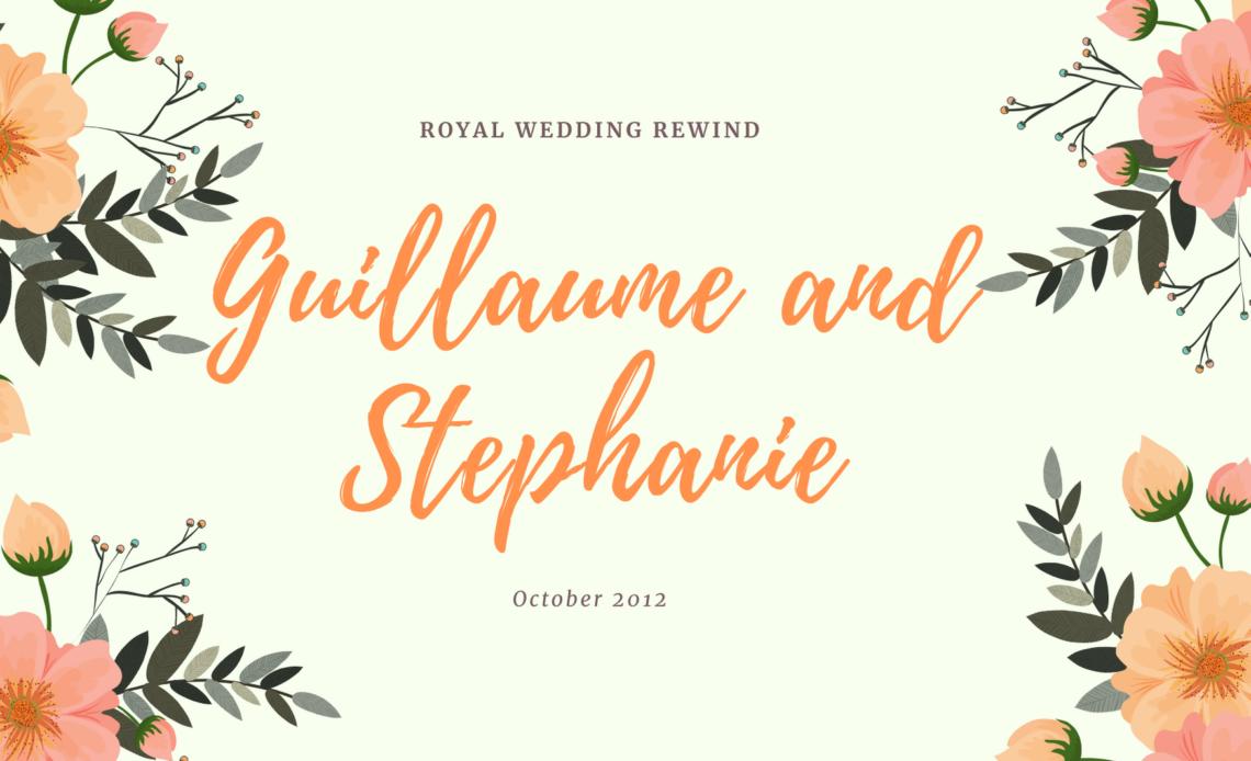 Guillaume and Stephanie Wedding Rewind Banner