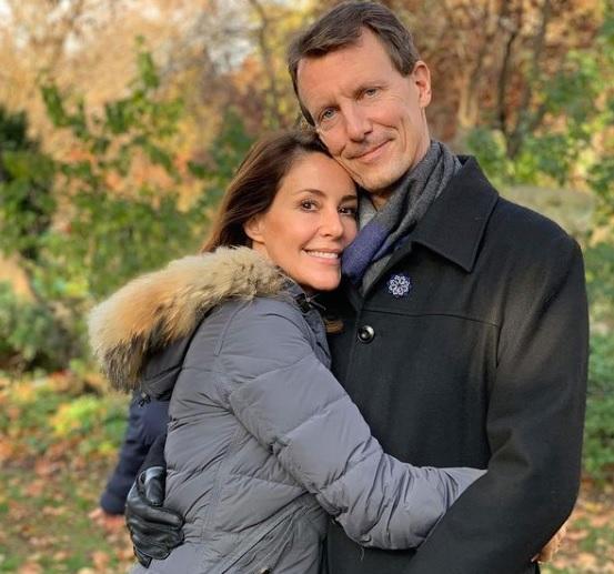 Prince Joachim and Princess Marie