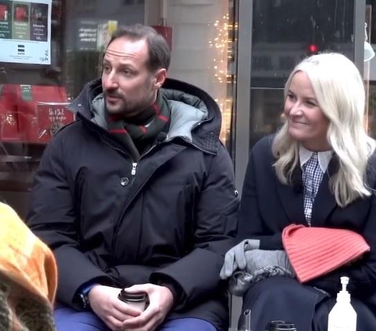 Crown Prince Haakon and Crown Princess Mette-Marit of Norway in Oslo