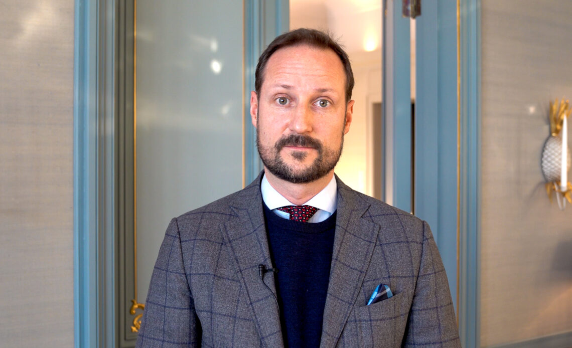 Crown Prince Haakon in January 2021