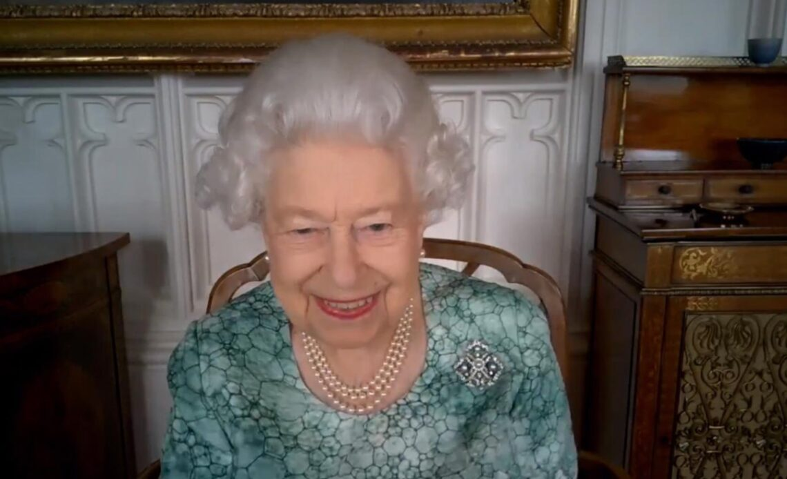 The Queen during British Science Week 2021