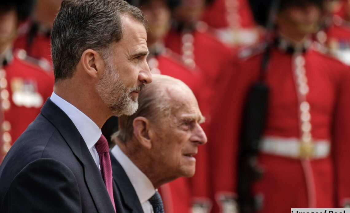 King Felipe and The Duke of Edinburgh