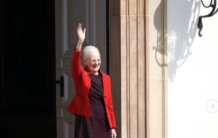 Queen Margrethe of Denmark on her 81st birthday