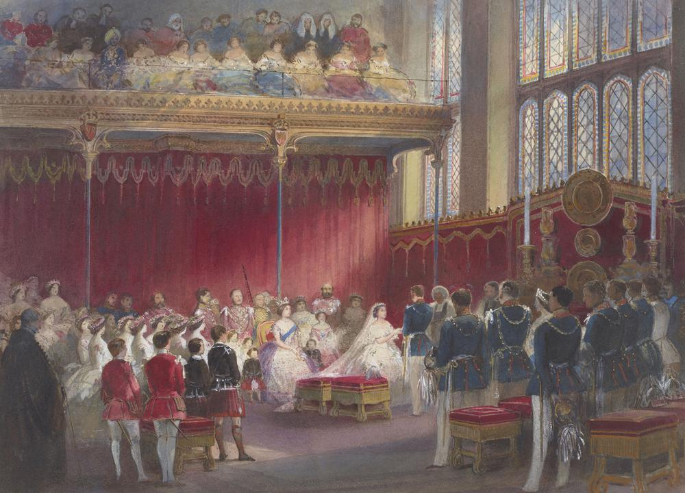 Egron Sellif Lundgren, The wedding of the Princess Royal and Prince Frederick William of Prussia, 1858