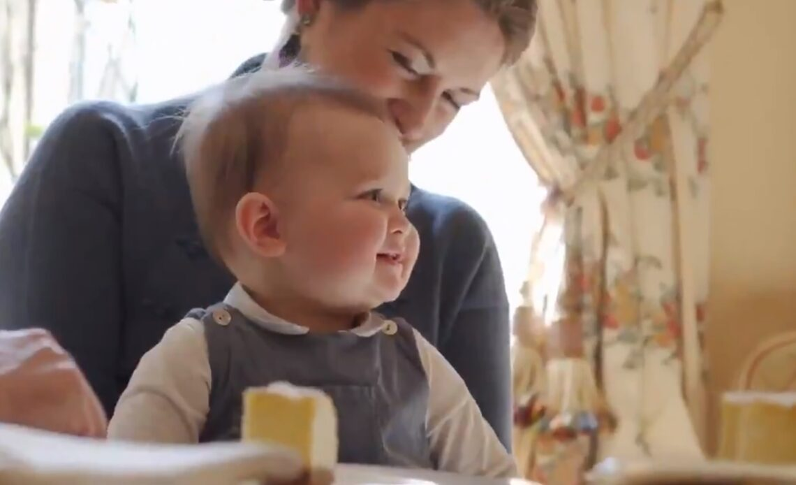 Prince Charles of Luxembourg celebrates his first birthday