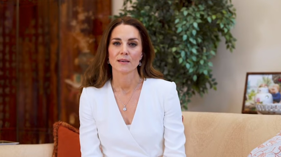 The Duchess of Cambridge speaks about the work of nurses