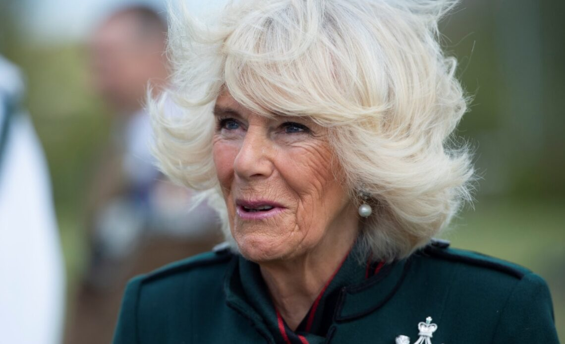 The Duchess of Cornwall visits the Rifles