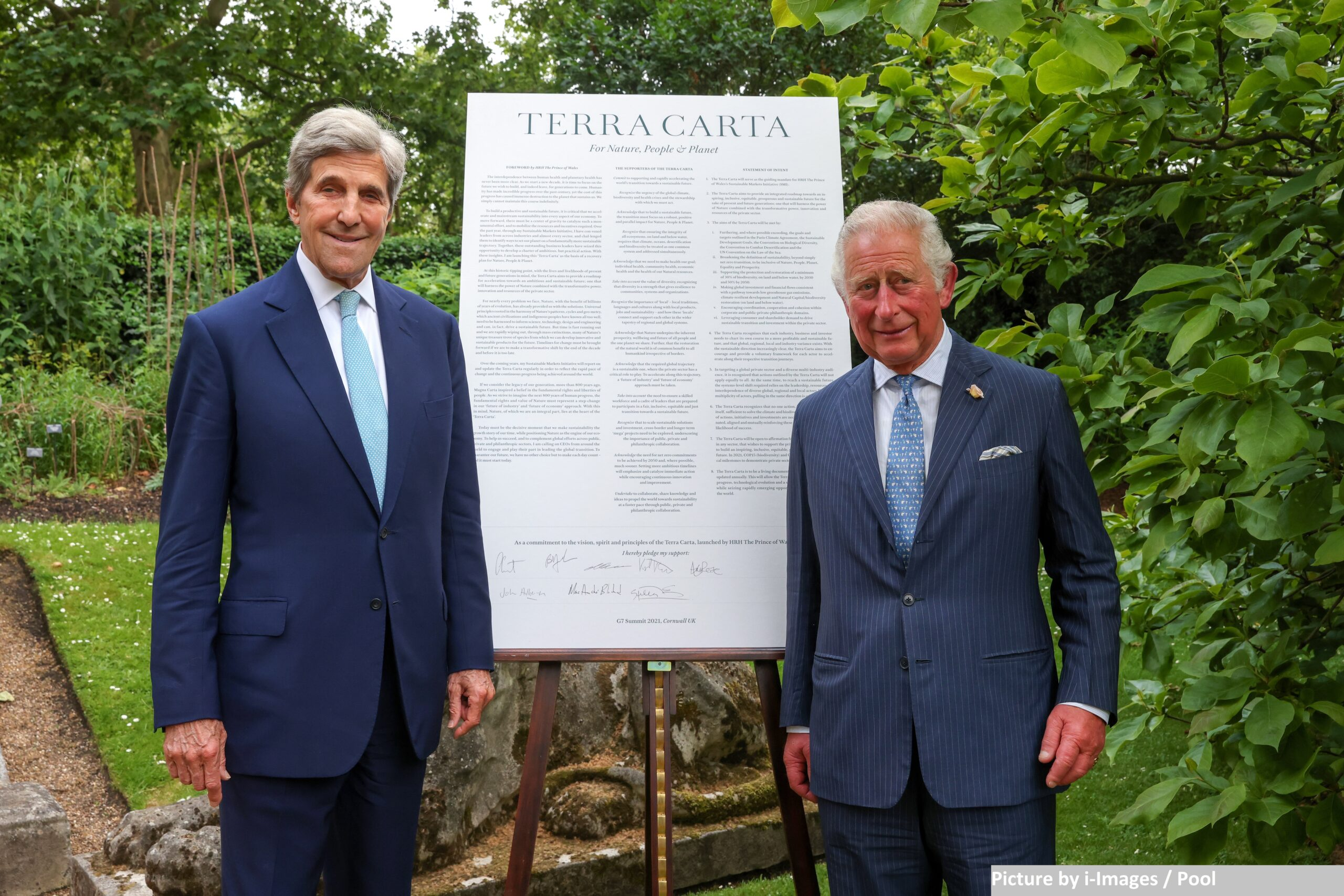 The Prince of Wales puts spotlight on the environment on eve of G7 summit