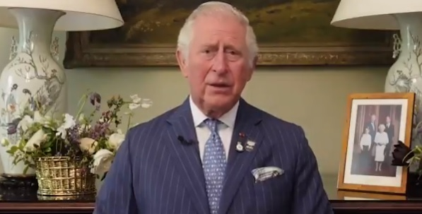 The Prince of Wales in a video message for D-Day 2021