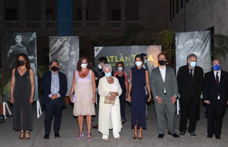 Queen Letizia at film festival in Mallorca