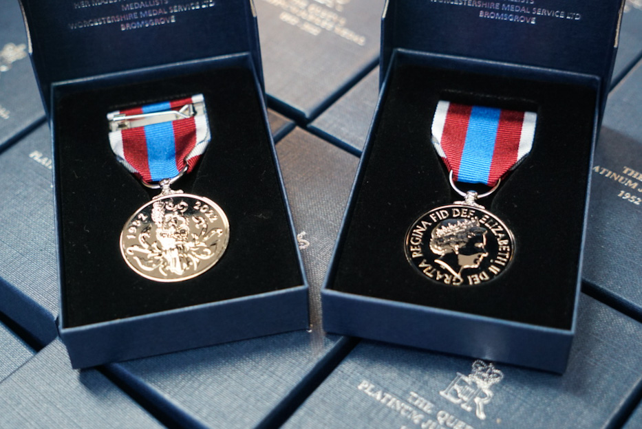 The Queen's Platinum Jubilee Medal