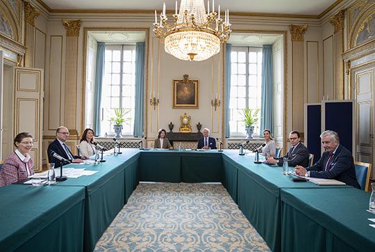 Sweden's Royal Family meet PM in September 2020