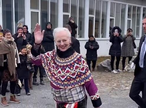 Queen Margrethe in Greenland